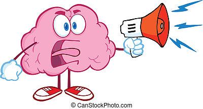 腦子, 憤怒, 擴音器