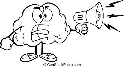 腦子, 概述, 擴音器, 憤怒