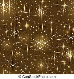 船桅, starry 天空, seamless, 聖誕節