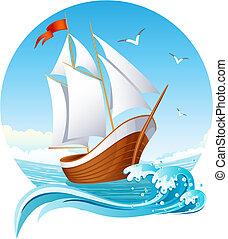船, 航行