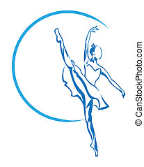 芭蕾舞女演員, 符號
