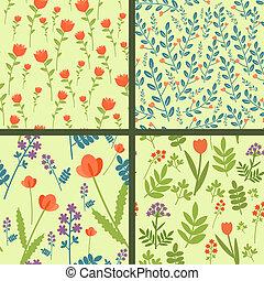 花卉 樣式