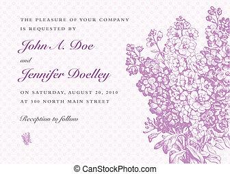 花束, 紫色, 矢量, 背景, 紫丁香