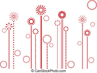 花, 紅色