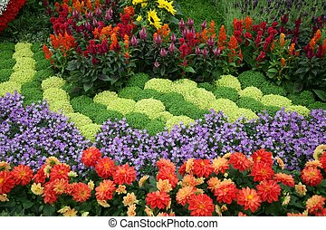 花, 花園