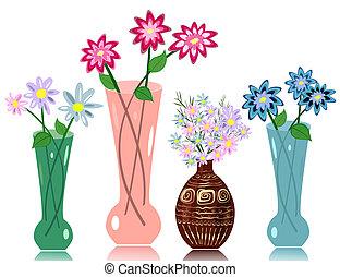 花, 花瓶