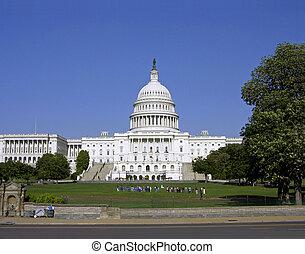 華盛頓特區, 國會大廈大樓