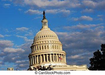華盛頓特區, 圓屋頂, 州議會大廈