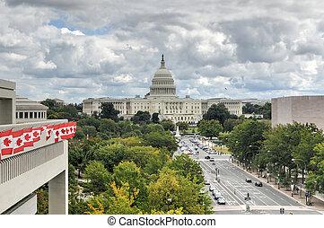 華盛頓特區, 州議會大廈, 我們