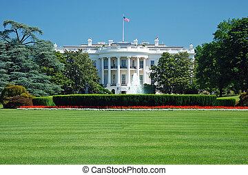 華盛頓特區, 房子, 白色