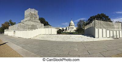 華盛頓, 小山, 州議會大廈, dc