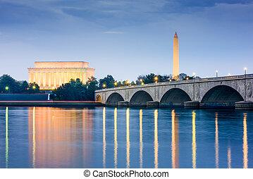 華盛頓, 紀念碑, dc