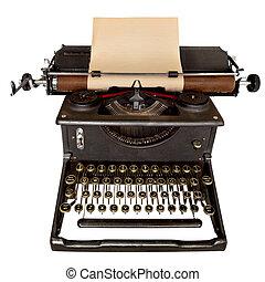 葡萄酒, 打字机