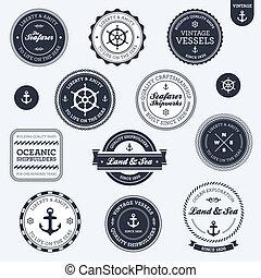 葡萄酒, 標籤, 船舶