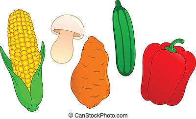 蔬菜, 3, 集合