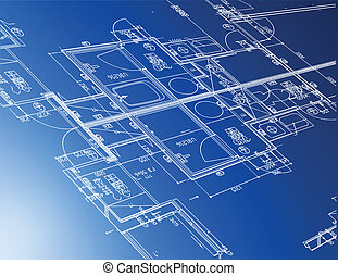 藍圖, 建筑, 樣品