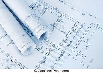 藍圖, 建設, 計劃