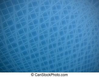 藍的柵格, 變形