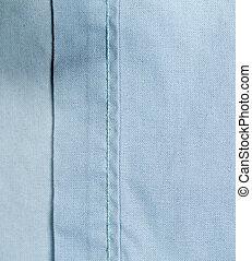 藍的結構, 背景。, 光, 紡織品, 布, texture.