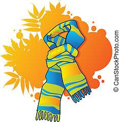 藍色圍巾, 流行