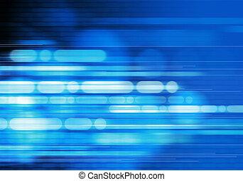 藍色的背景, 摘要