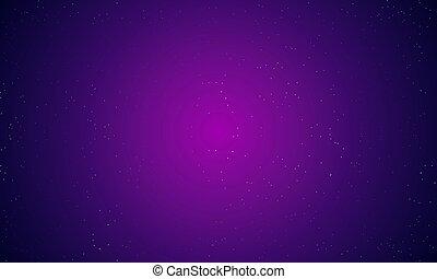 藍色, 不滿星星的, 摘要, 天空, 紫色