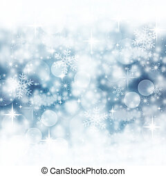 藍色, 冬天, 背景