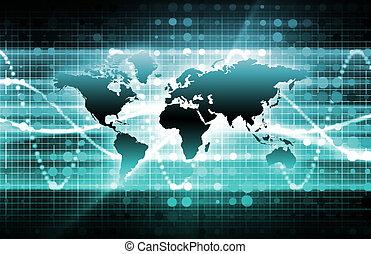 藍色, 國際, 新聞