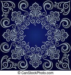 藍色, 壇場, 背景