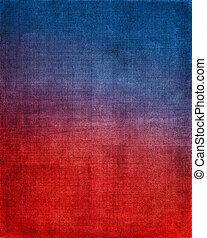 藍色, 布, 紅的背景