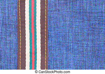 藍色, 布, 背景