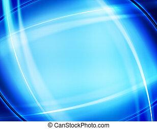 藍色, 摘要設計, 背景