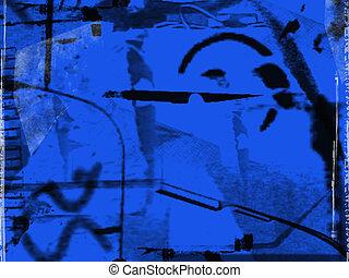 藍色, 摘要