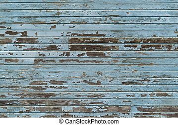 藍色, 支持, 木頭, 老