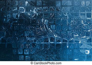 藍色, 數据, 摘要, 柵格, 網際網路, 公司