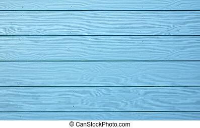 藍色, 木 紋理