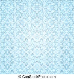 藍色, 牆紙, 哥特式, seamless
