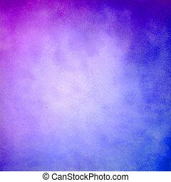 藍色, 紫色, 摘要, grunge, 背景