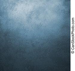 藍色, 風格, 老, 葡萄酒, 黑暗, 紙, retro, 背景, grunge