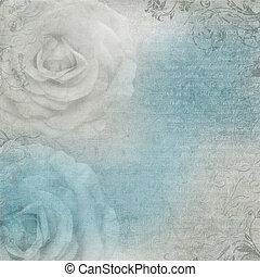 藍色, textured, 灰色, 背景