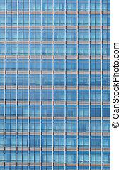 藍色, windows, 辦公室, 背景