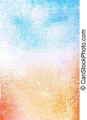藝術, background:, 葡萄酒, 框架, 白色, /, 設計, 圖樣, 藍色, 紙, textured, grunge, 黃色, 結構, 邊框, 摘要, 紅色, 背景。