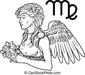 處女座, 黃道帶, 簽署, 星象, 占星術