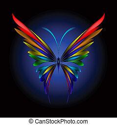 蝴蝶, 簡單地