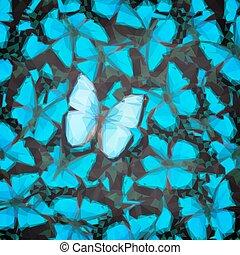 蝴蝶, 綠色, swallowtail, 海