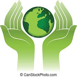 行星地球, 手