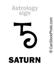 行星, 土星, astrology: