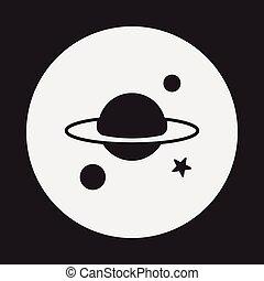 行星, 空間, 圖象