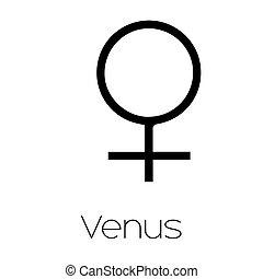 行星, 符號, venus, -