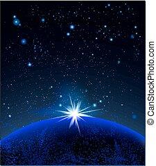 行星, 超新星